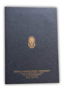 Convocation Folder